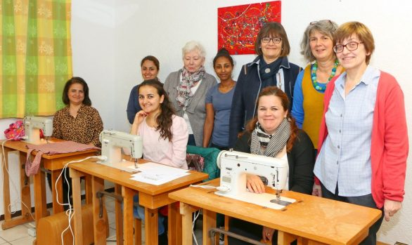 Nähkurs für Flüchtlingsfrauen